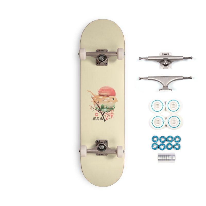 Japanese Bird Accessories Complete - Basic Skateboard by dandingeroz's Artist Shop
