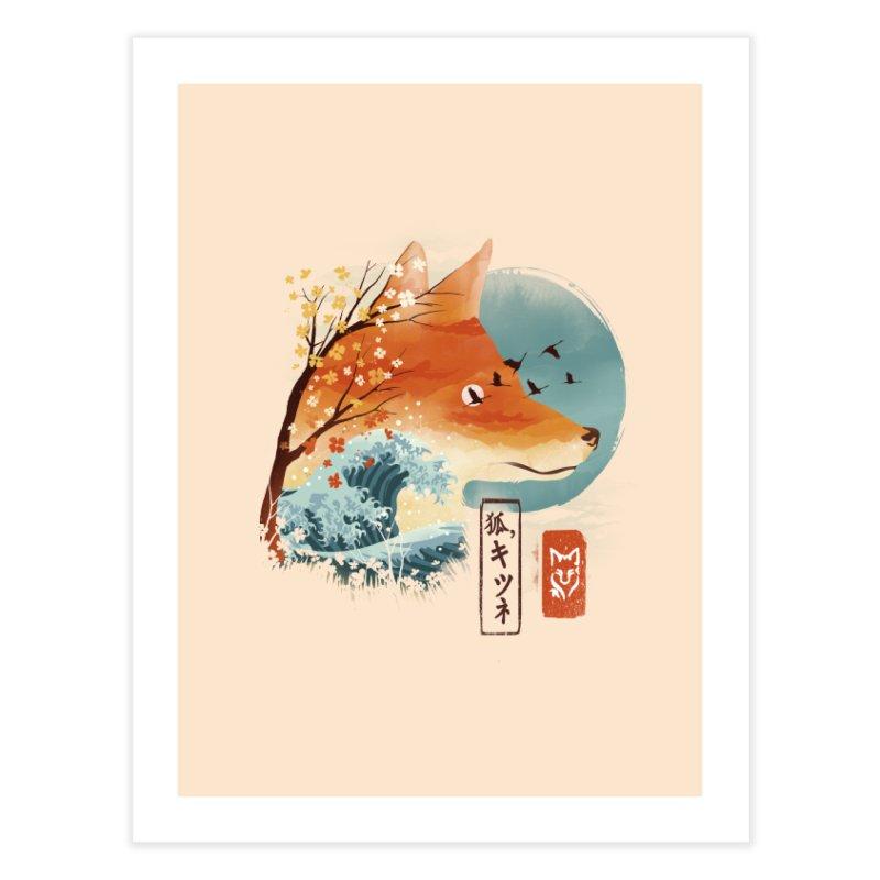 Japanese Fox Home Fine Art Print by dandingeroz's Artist Shop