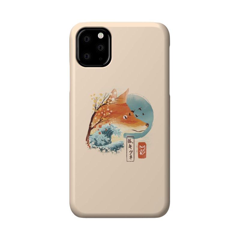 Japanese Fox Accessories Phone Case by dandingeroz's Artist Shop