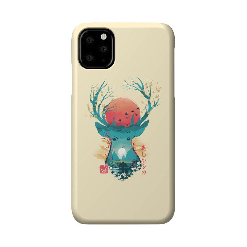 Japanese Deer Accessories Phone Case by dandingeroz's Artist Shop