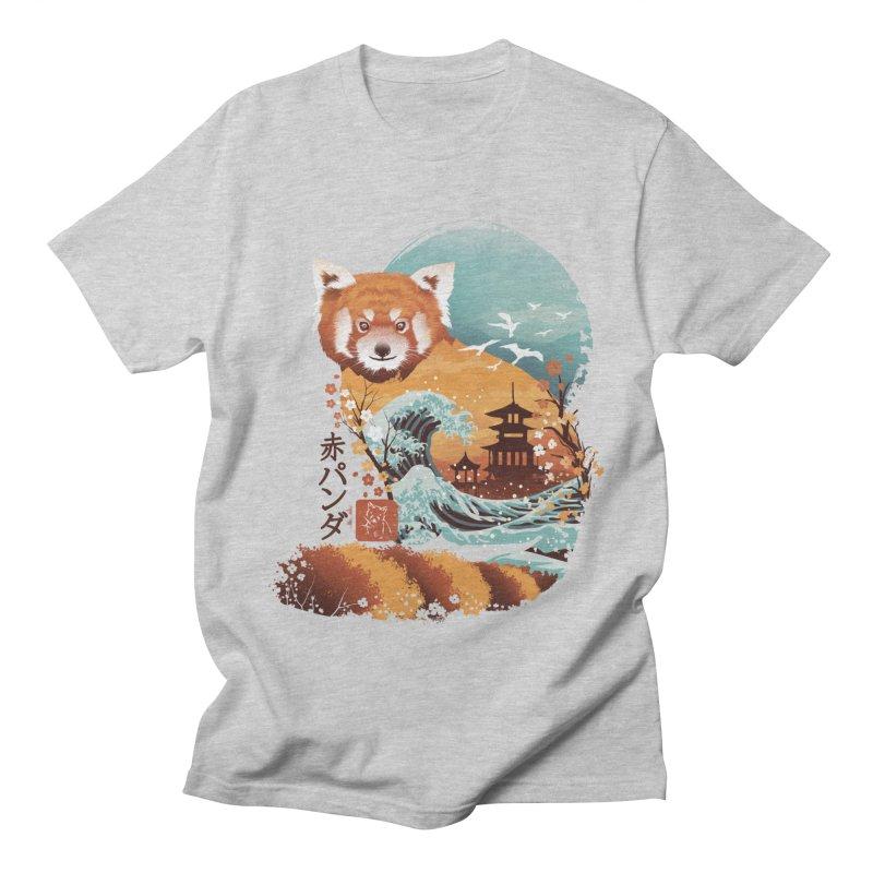 Ukiyo e Red Panda Men's Regular T-Shirt by dandingeroz's Artist Shop