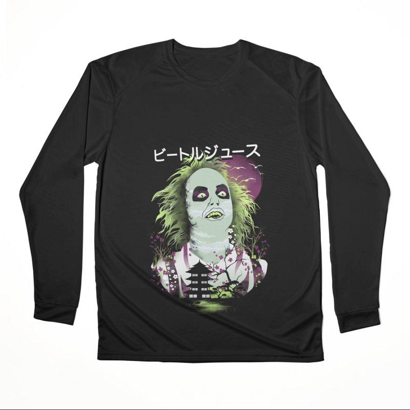 Ukiyo e Beetle Juice Women's Performance Unisex Longsleeve T-Shirt by dandingeroz's Artist Shop