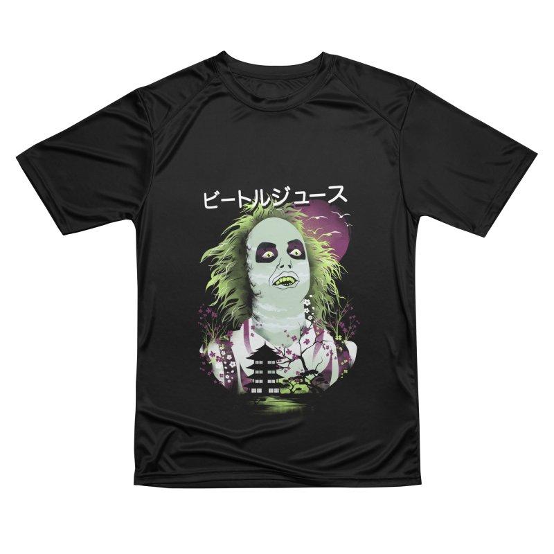 Ukiyo e Beetle Juice Women's Performance Unisex T-Shirt by dandingeroz's Artist Shop