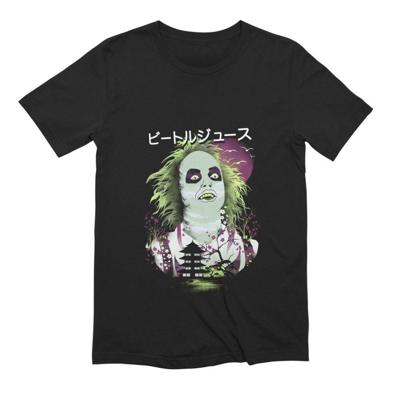 Ukiyo e Beetle Juice Men's Extra Soft T-Shirt by dandingeroz's Artist Shop