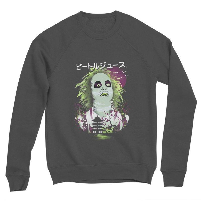 Ukiyo e Beetle Juice Men's Sponge Fleece Sweatshirt by dandingeroz's Artist Shop