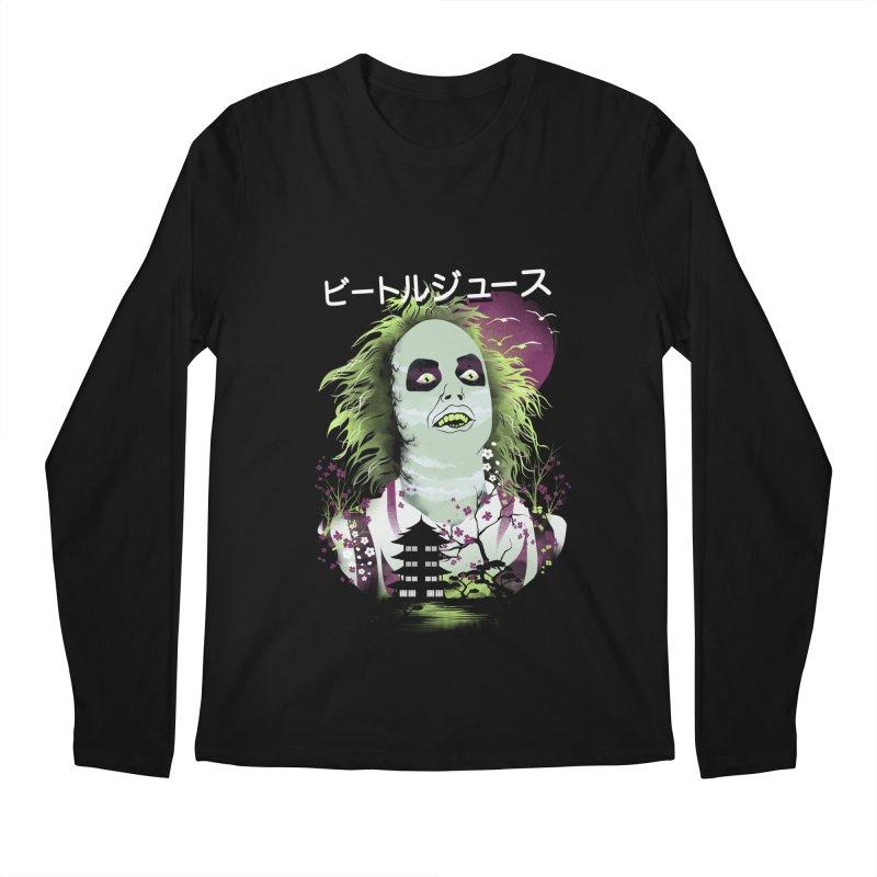 Ukiyo e Beetle Juice Men's Regular Longsleeve T-Shirt by dandingeroz's Artist Shop