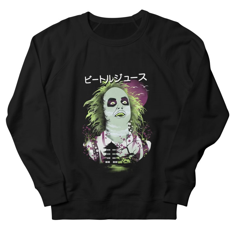 Ukiyo e Beetle Juice Men's French Terry Sweatshirt by dandingeroz's Artist Shop