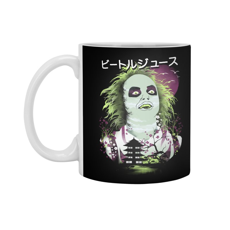 Ukiyo e Beetle Juice Accessories Standard Mug by dandingeroz's Artist Shop