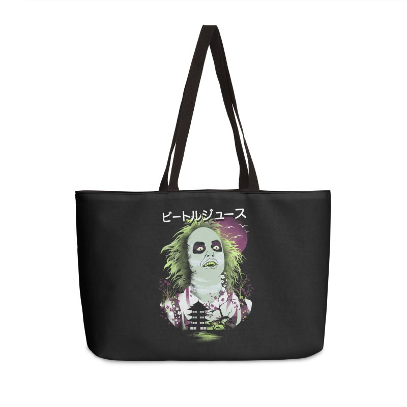 Ukiyo e Beetle Juice Accessories Weekender Bag Bag by dandingeroz's Artist Shop
