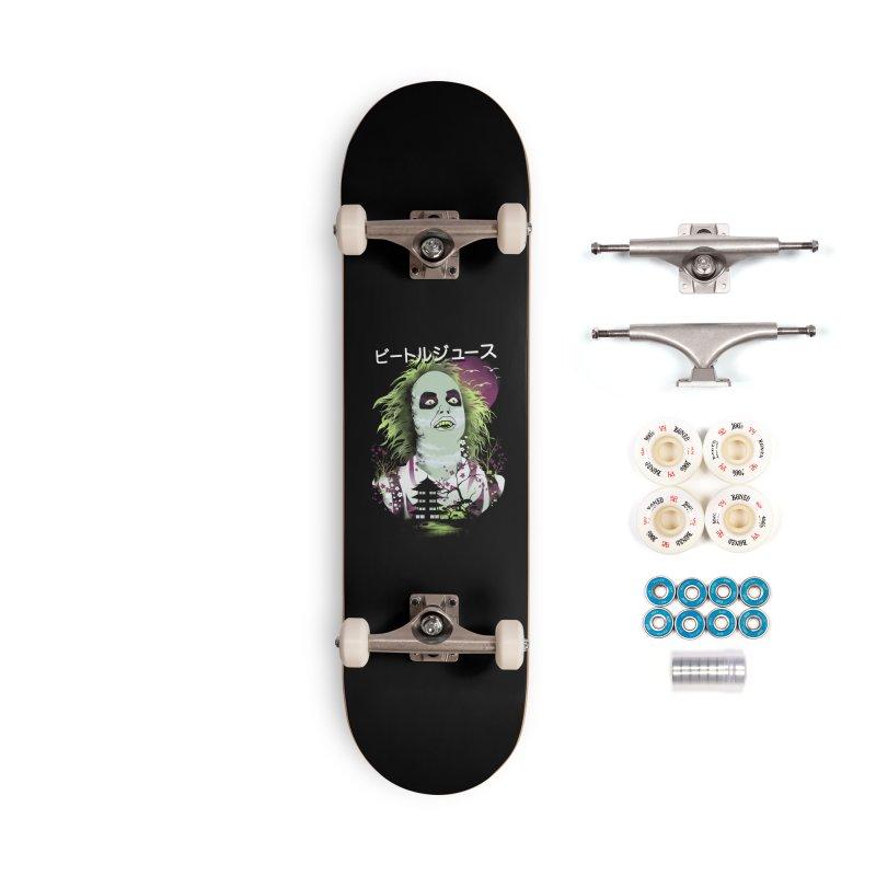 Ukiyo e Beetle Juice Accessories Complete - Premium Skateboard by dandingeroz's Artist Shop