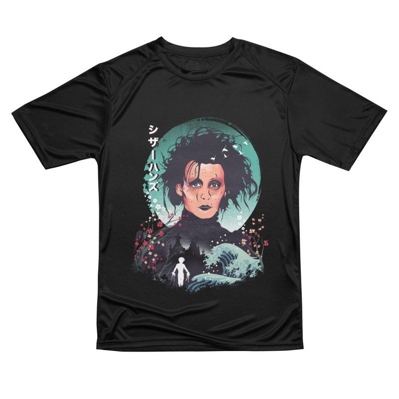 Ukiyo e Scissorhands Women's Performance Unisex T-Shirt by dandingeroz's Artist Shop