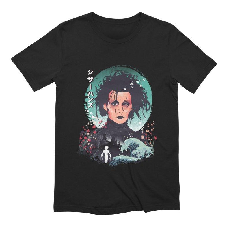 Ukiyo e Scissorhands Men's Extra Soft T-Shirt by dandingeroz's Artist Shop