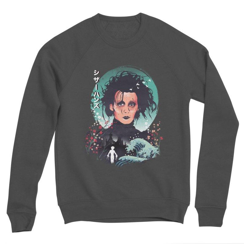Ukiyo e Scissorhands Women's Sponge Fleece Sweatshirt by dandingeroz's Artist Shop