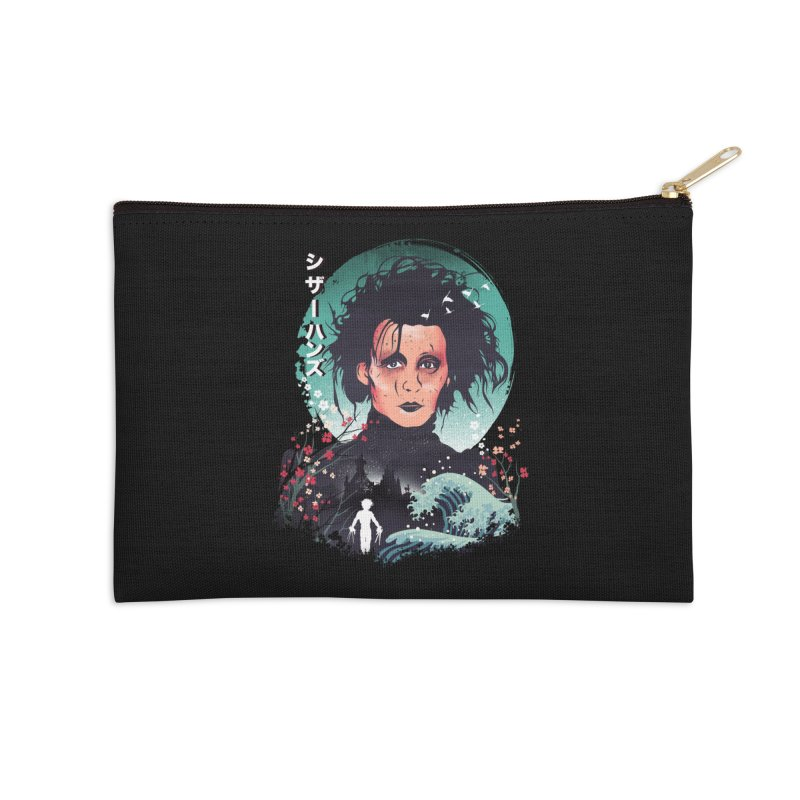 Ukiyo e Scissorhands Accessories Zip Pouch by dandingeroz's Artist Shop