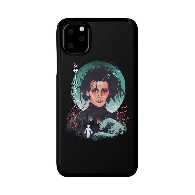 Ukiyo e Scissorhands Accessories Phone Case by dandingeroz's Artist Shop