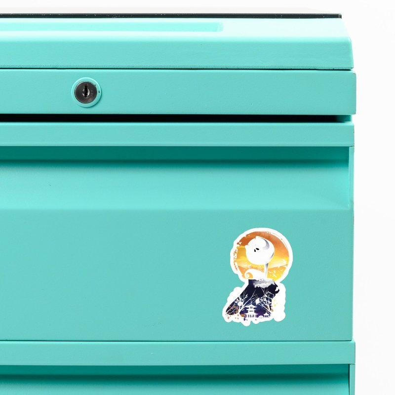 Ukiyo e Jack Town Accessories Magnet by dandingeroz's Artist Shop