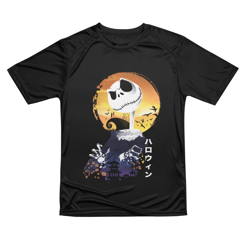 Ukiyo e Jack Town Women's Performance Unisex T-Shirt by dandingeroz's Artist Shop