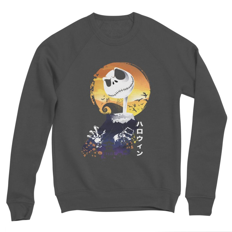 Ukiyo e Jack Town Women's Sponge Fleece Sweatshirt by dandingeroz's Artist Shop