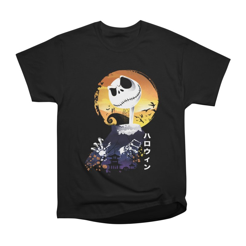 Ukiyo e Jack Town Men's Heavyweight T-Shirt by dandingeroz's Artist Shop