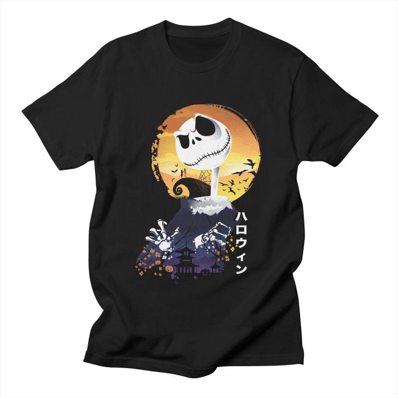 Ukiyo e Jack Town Men's Regular T-Shirt by dandingeroz's Artist Shop