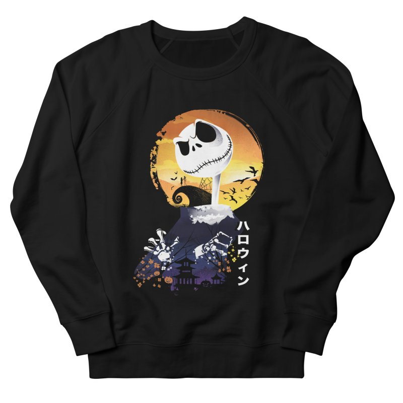 Ukiyo e Jack Town Men's French Terry Sweatshirt by dandingeroz's Artist Shop