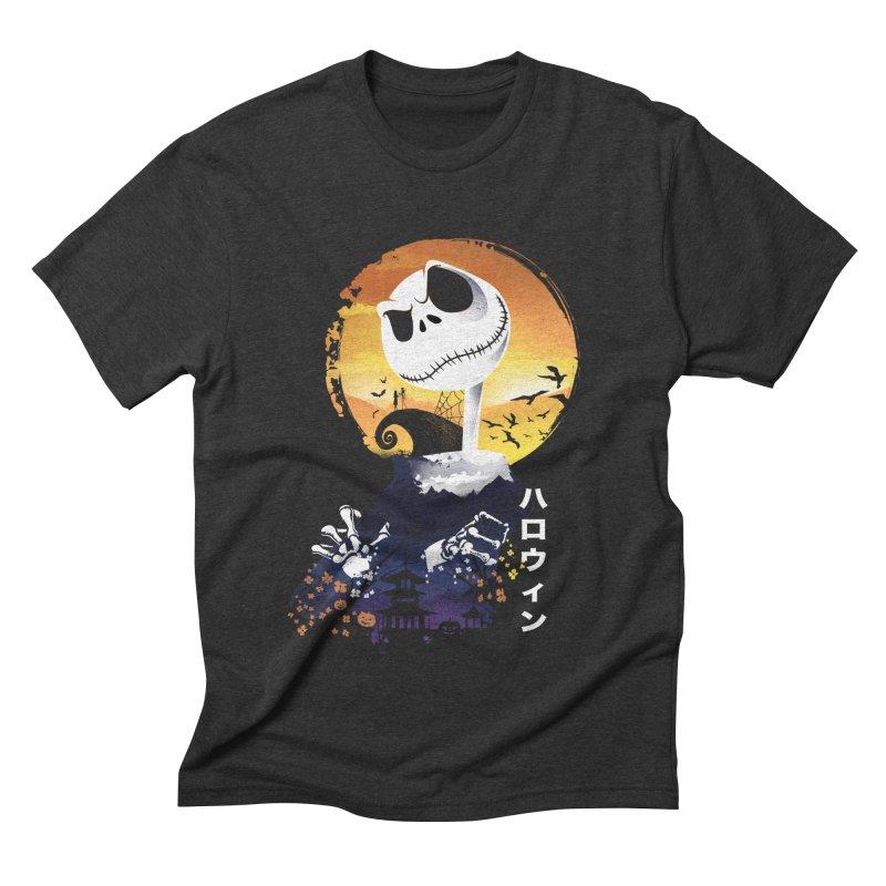 Ukiyo e Jack Town Men's Triblend T-Shirt by dandingeroz's Artist Shop