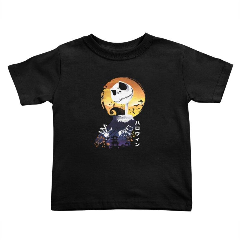 Ukiyo e Jack Town Kids Toddler T-Shirt by dandingeroz's Artist Shop