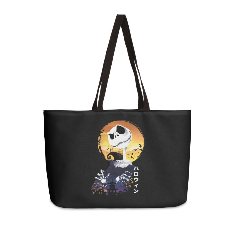 Ukiyo e Jack Town Accessories Weekender Bag Bag by dandingeroz's Artist Shop