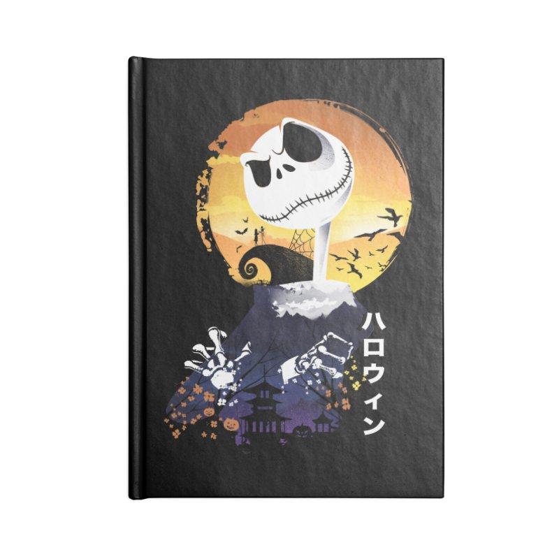 Ukiyo e Jack Town Accessories Lined Journal Notebook by dandingeroz's Artist Shop