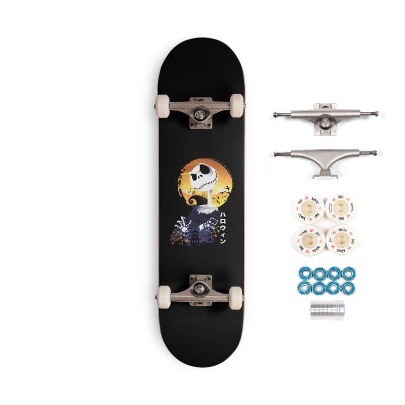 Ukiyo e Jack Town Accessories Complete - Premium Skateboard by dandingeroz's Artist Shop