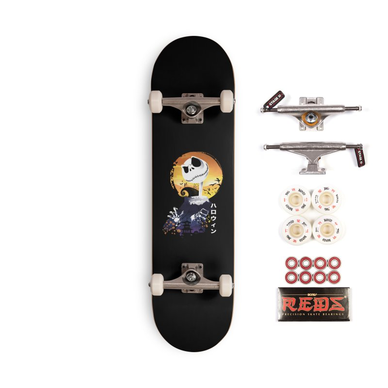 Ukiyo e Jack Town Accessories Complete - Pro Skateboard by dandingeroz's Artist Shop