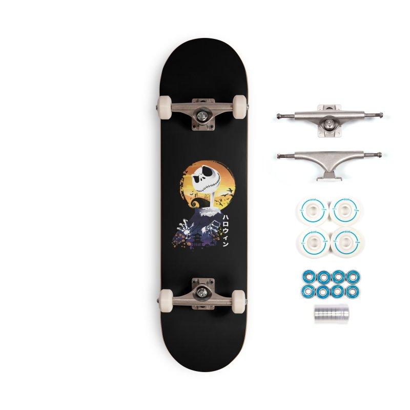 Ukiyo e Jack Town Accessories Complete - Basic Skateboard by dandingeroz's Artist Shop