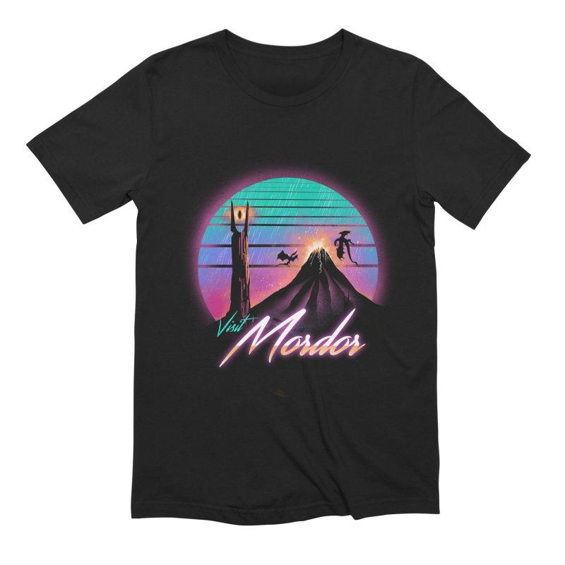 Visit Mordor Men's Extra Soft T-Shirt by dandingeroz's Artist Shop
