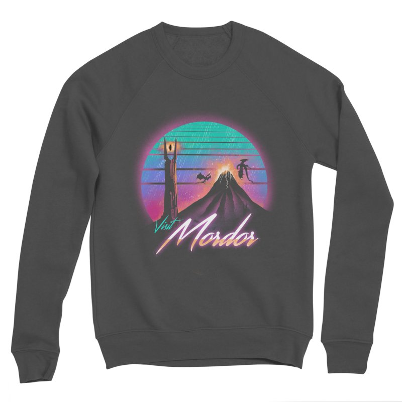 Visit Mordor Men's Sponge Fleece Sweatshirt by dandingeroz's Artist Shop
