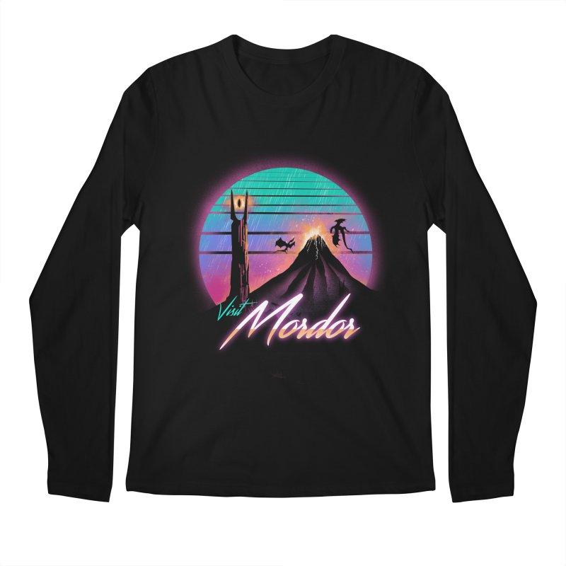 Visit Mordor Men's Regular Longsleeve T-Shirt by dandingeroz's Artist Shop
