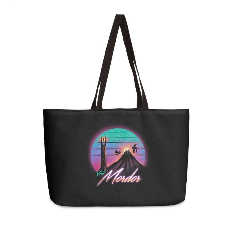 Visit Mordor Accessories Weekender Bag Bag by dandingeroz's Artist Shop