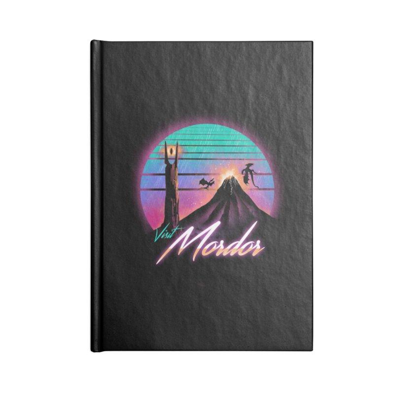 Visit Mordor Accessories Lined Journal Notebook by dandingeroz's Artist Shop