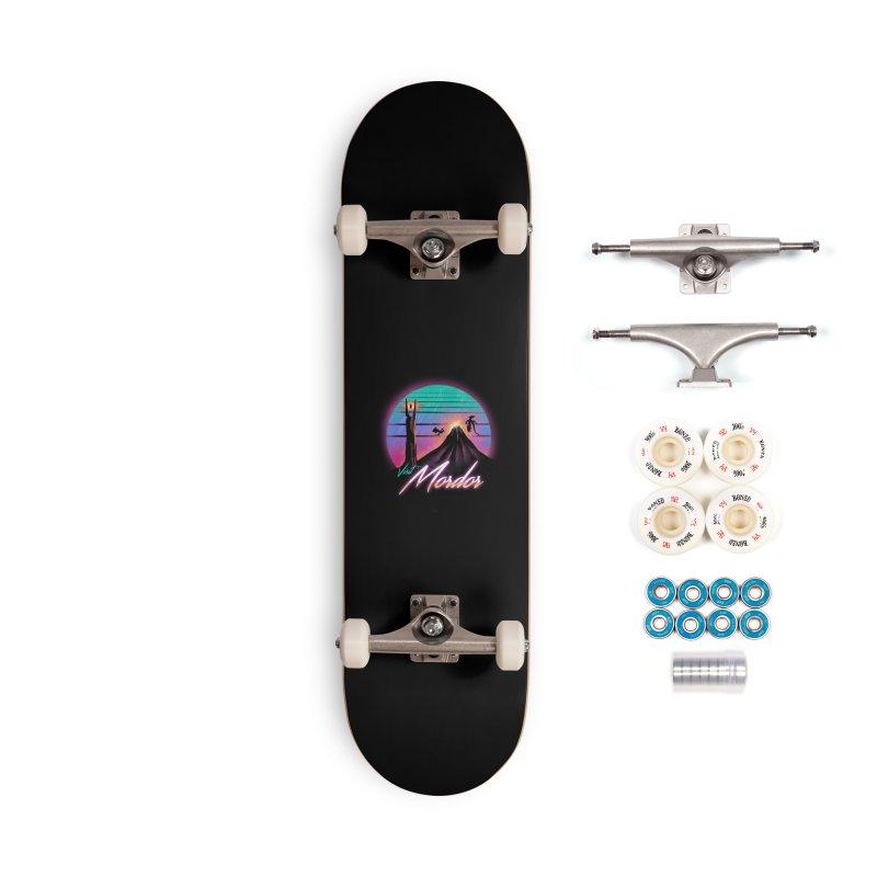 Visit Mordor Accessories Complete - Premium Skateboard by dandingeroz's Artist Shop