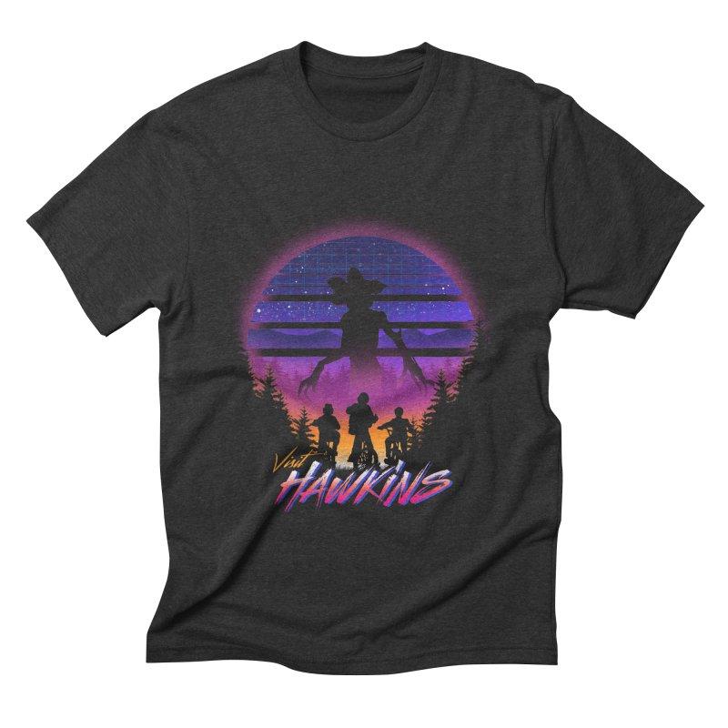 Visit Hawkins Men's Triblend T-Shirt by dandingeroz's Artist Shop