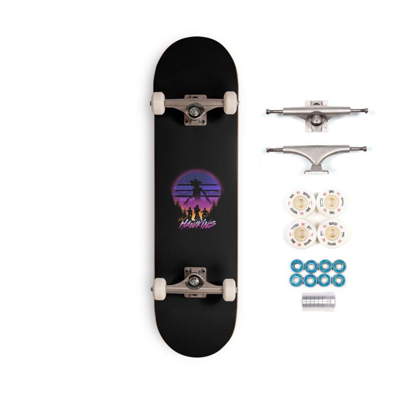 Visit Hawkins Accessories Complete - Premium Skateboard by dandingeroz's Artist Shop