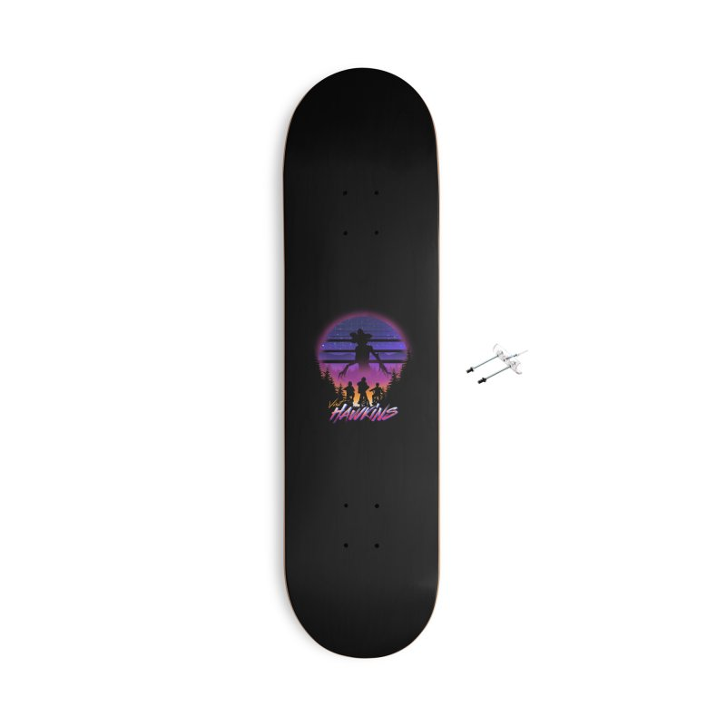 Visit Hawkins Accessories With Hanging Hardware Skateboard by dandingeroz's Artist Shop