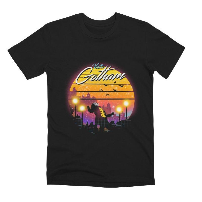 Visit Gotham Men's Premium T-Shirt by dandingeroz's Artist Shop