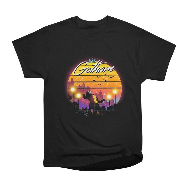 Visit Gotham Men's Heavyweight T-Shirt by dandingeroz's Artist Shop