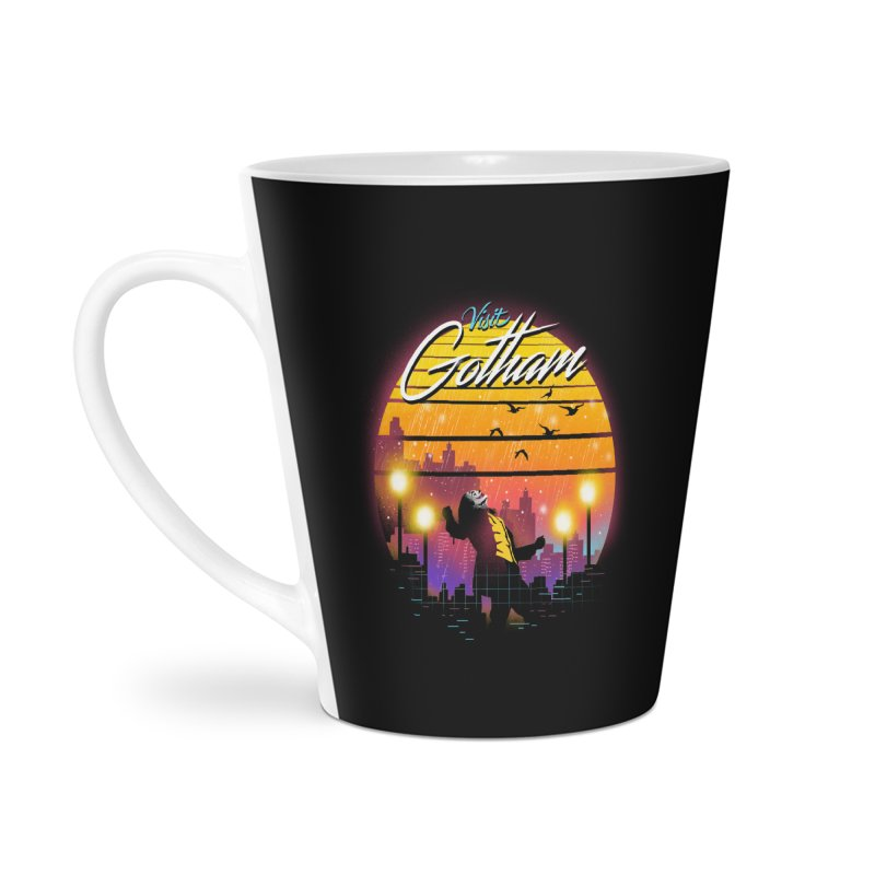 Visit Gotham Accessories Latte Mug by dandingeroz's Artist Shop