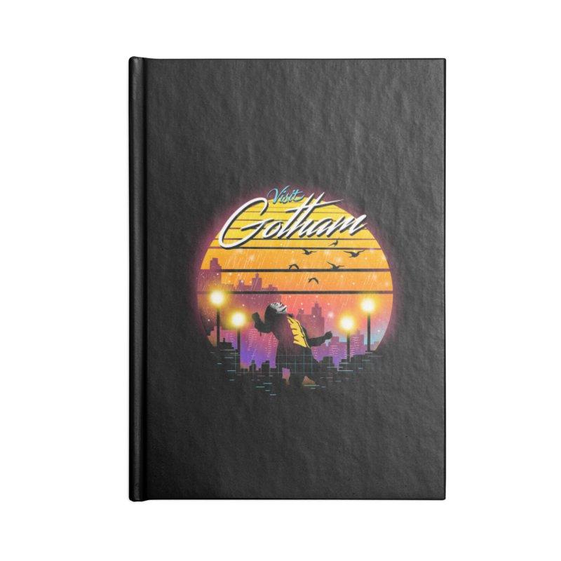 Visit Gotham Accessories Blank Journal Notebook by dandingeroz's Artist Shop