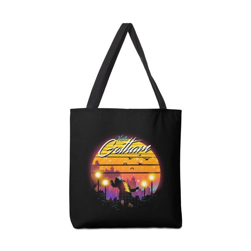 Visit Gotham Accessories Tote Bag Bag by dandingeroz's Artist Shop