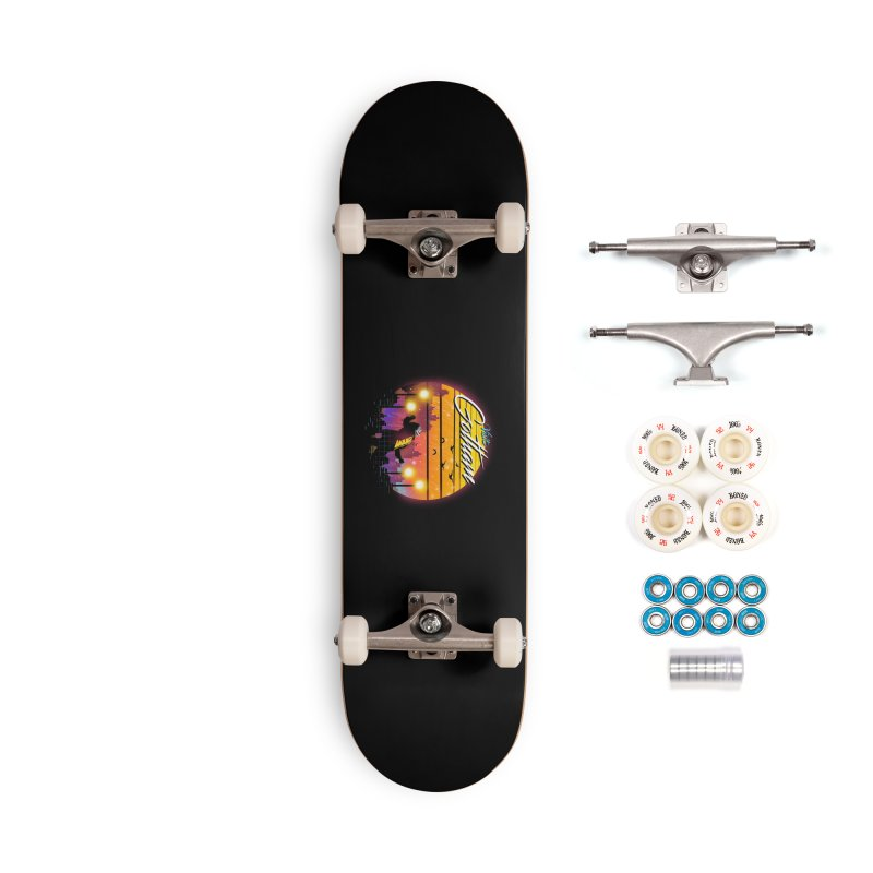 Visit Gotham Accessories Complete - Premium Skateboard by dandingeroz's Artist Shop