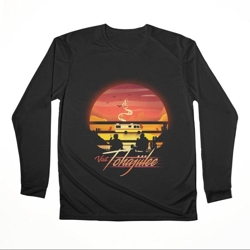 Visit Tohajiilee Women's Performance Unisex Longsleeve T-Shirt by dandingeroz's Artist Shop