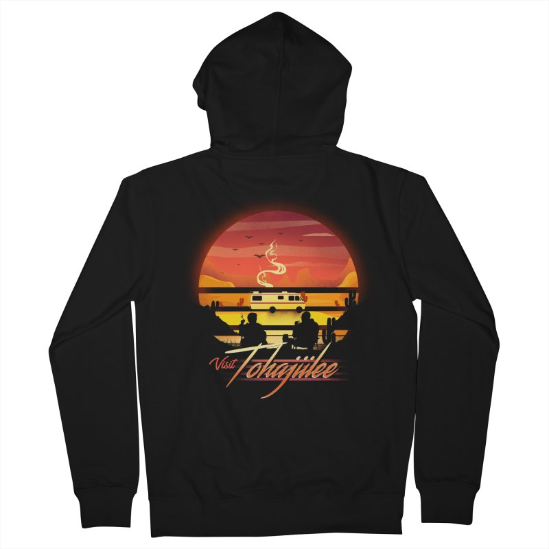 Visit Tohajiilee Men's French Terry Zip-Up Hoody by dandingeroz's Artist Shop