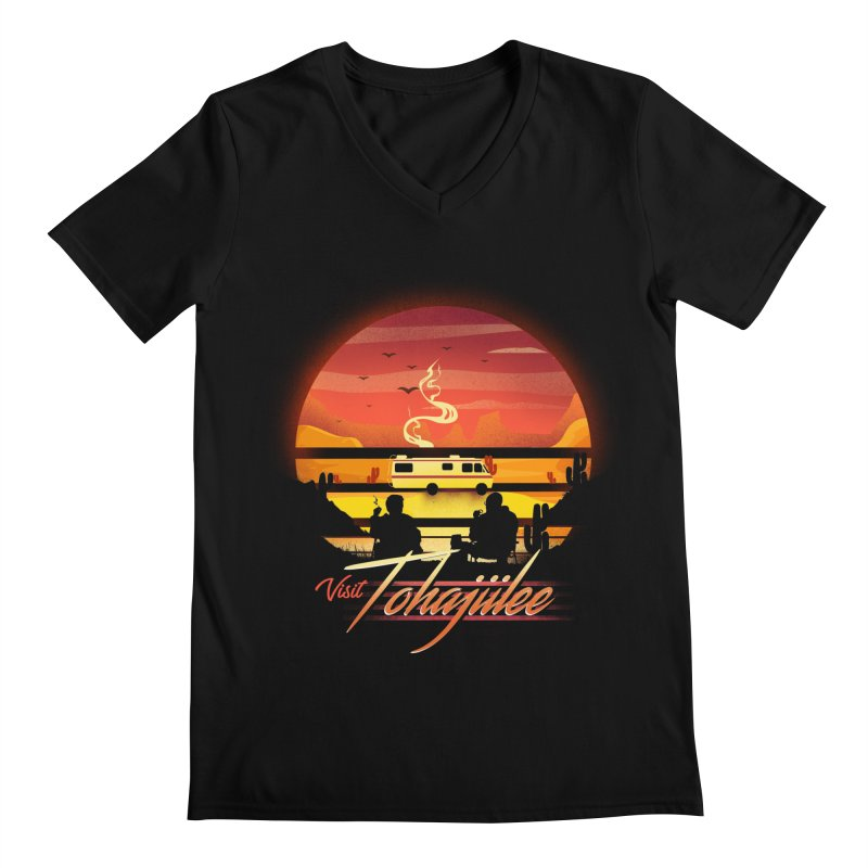 Visit Tohajiilee Men's Regular V-Neck by dandingeroz's Artist Shop
